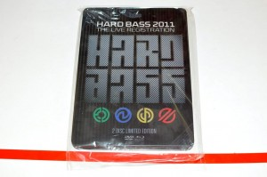 Hard Bass 2011 - Live Registration Blu-ray + DVD Uzyw.