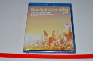 Decibel 2011 The Live Registration Blu Ray + CD NOWE