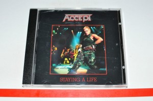 Accept – Staying A Life 2xCD Używ.