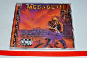 Megadeth - Peace Sells... But Who's Buying? CD ALBUM Used