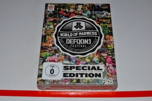 Defqon.1 Festival 2012 - World Of Madness - 3 Disc Special Edition Blu Ray DVD