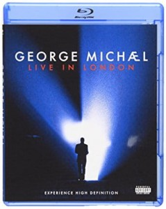 George Michael ‎– Live In London Blu Ray Used