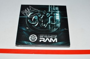RAM - Essence Of Trance: 25 Years Of RAM Autograf 4xCD Używ.