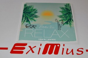 "Blank & Jones - Relax Vol. 10 12"" LP AUTOGRAF Nowa"