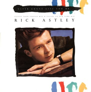 "Rick Astley - Never Gonna Give You Up (Escape From Newton Mix) 12"" LP Used"