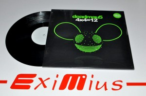 "Deadmau5 - 4x4=12 4x12"" Album Limited Edition New"