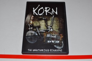Korn - Steal This DVD - The Unauthorized Biography DVD Używ.