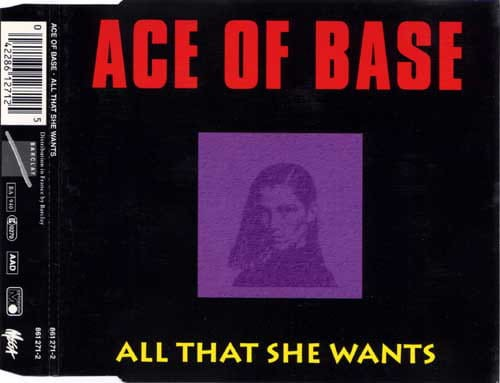 Ace Of Base ‎– All That She Wants cd.jpg