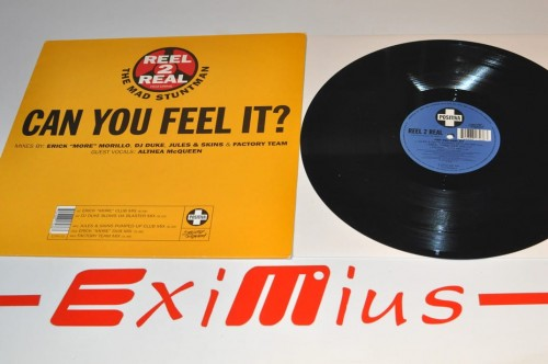 Reel 2 Real Feat.The Mad Stuntman - Can You Feel It  lp..jpg