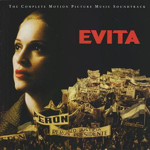 Andrew Lloyd Webber And Tim Rice ‎– Evita (The Motion Picture Music Soundtrack) cd.jpg
